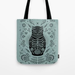 Owl Nesting Doll (Matryoshka) Tote Bag