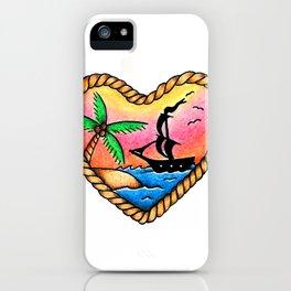 Sea Love. iPhone Case