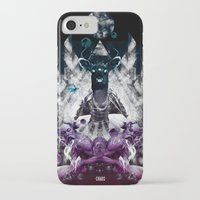 chaos iPhone & iPod Cases featuring Chaos by CAP 388