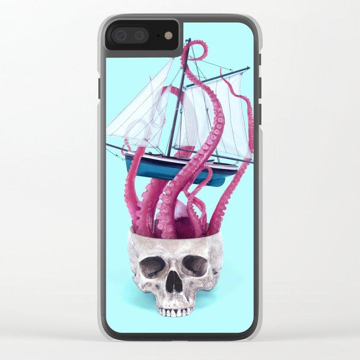 RELEASE THE KRAKEN Clear iPhone Case