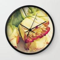 friendship Wall Clocks featuring friendship by Sandra Arduini