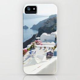 Santorini VII iPhone Case