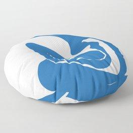 Matisse Cut Out Figure #1 Light Blue Floor Pillow