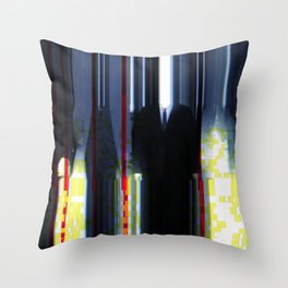 Suited For Trouble Throw Pillow