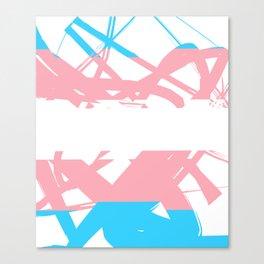 Transgender Tangle Canvas Print