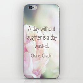 Quotes iPhone Skin
