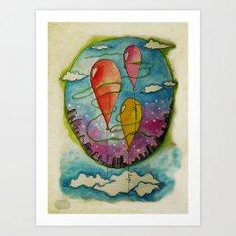 Wishes Art Print