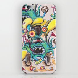 Aussie Road Rage Hoon Monster iPhone Skin