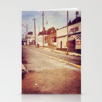 memphis Stationery Cards featuring Memphis Street by wendygray