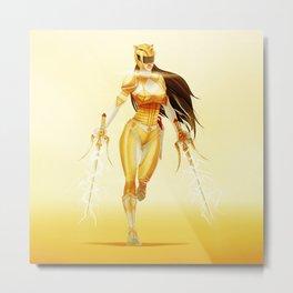 Yellow Ranger Metal Print