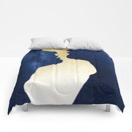 We Met Under the Stars Comforters
