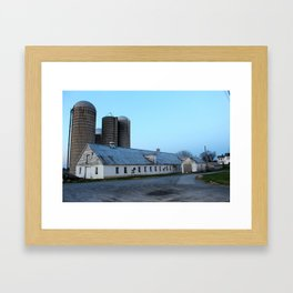 Silent Barn Framed Art Print