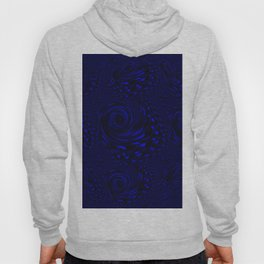 Deep Blue Ocean Waves Hoody