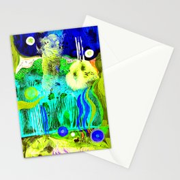 abstract #252 Stationery Cards