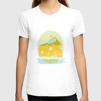 cheese T-shirts featuring Cheese  by Hadar Geva