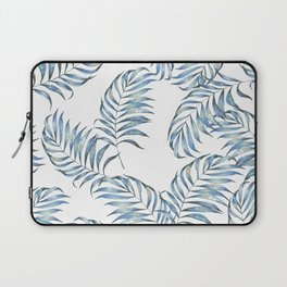 Blue Leaves Laptop Sleeve