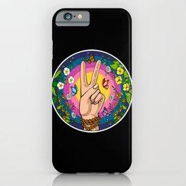 Hippie Peace iPhone Case