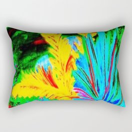 Retro Dolphin Rectangular Pillow