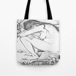Sorrow (After Vincent Van Gogh)  Tote Bag
