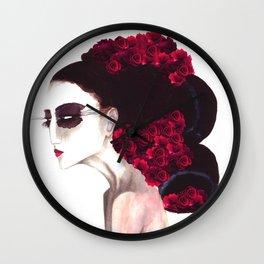 Spring Skepticism Wall Clock