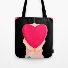 #BEFREETOFALLINLOVE Tote Bag