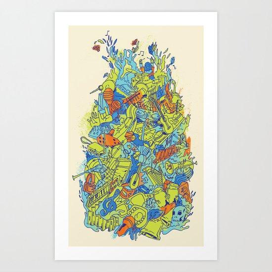 Music--Something For Everyone Art Print