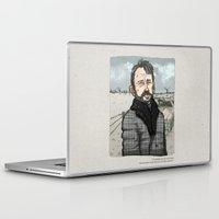 fargo Laptop & iPad Skins featuring Lorne Malvo, Billy Bob Thornton at Fargo series by suPmön