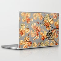 quilt Laptop & iPad Skins featuring Dogwood Quilt by Olivia Joy StClaire
