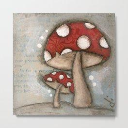 Mushrooms - by Diane Duda Metal Print