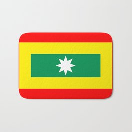cartagena region flag Colombia country Bath Mat