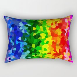 Rainbow Moon Love Rectangular Pillow