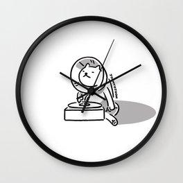 Gramocat Wall Clock