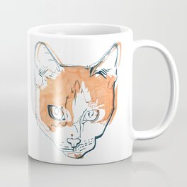 Kitten with a Soul Patch Coffee Mug