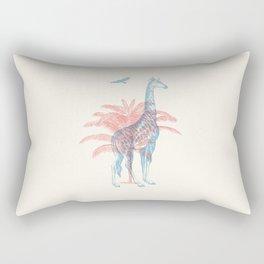 Giraffe - Where they Belong Rectangular Pillow