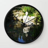 karma Wall Clocks featuring KARMA by Ylenia Pizzetti