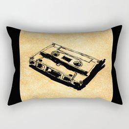 Retro Cassette Tape Rectangular Pillow