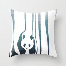 Panda's Way Throw Pillow