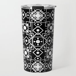 Geometric Constellations (Midnight Version) Travel Mug