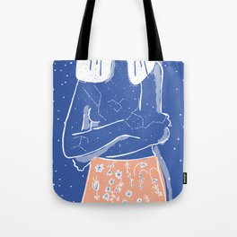 The Galaxy Inside Of Me Tote Bag