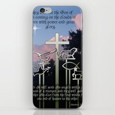 The Coming of the Son of Man iPhone & iPod Skin