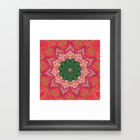 Royal Mandala 1 Framed Art Print