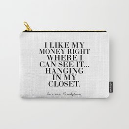 movies quote,girls room art, gift idea,Bathroom Decor,Bathroom Sign,Typography Print,Wall Art Carry-All Pouch