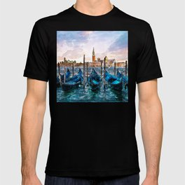 Gondolas in Venice T-shirt