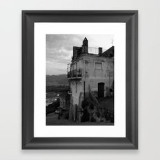 The Old Part of Town Framed Art Print