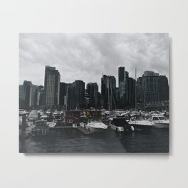 Vancouver Skyline 2 Metal Print