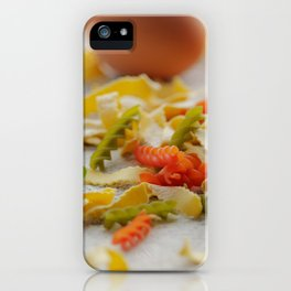 #Coloful #Pasta #Creation iPhone Case