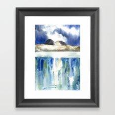 Rainbow Suilven Framed Art Print