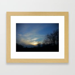 Skyview at Meadowview Framed Art Print