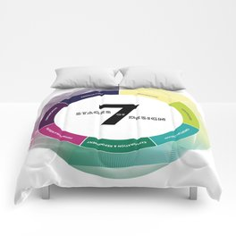 7 Stages of Design Comforters