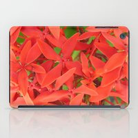 indonesia iPad Cases featuring Flower (Bali, Indonesia) by Christian Haberäcker - acryl abstract